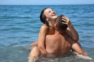 Sex pod vodou