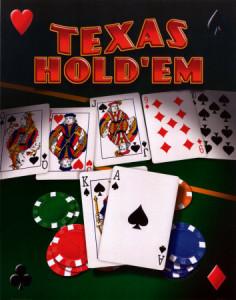 Svlékací poker - Texas hold'em
